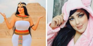 Photographer Salma al-Shimi was arrested for posting photos of herself in front of pyramid in Egypt