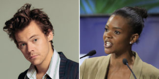 """Harry Styles' got something to say to Candace Owens' """"Bring back the manly men"""" comments about his appearance on the Vogue cover"""