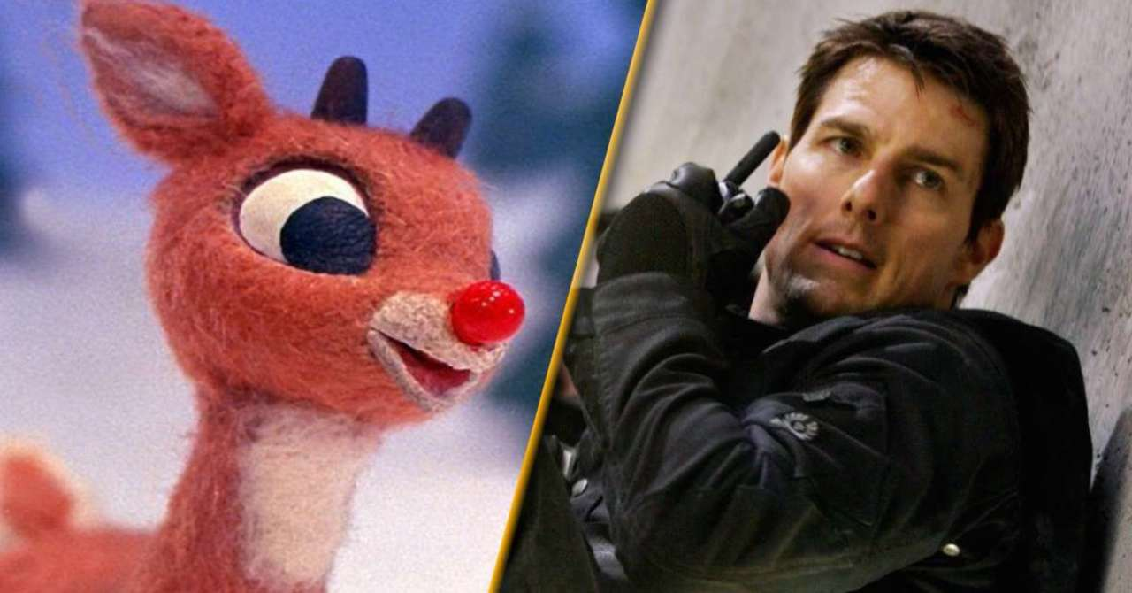 Tom Cruise's rant makes for a Rudolph carol