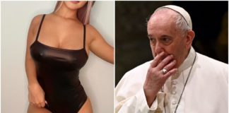 "Pope Francis' Intagram account ""likes"" another racy model's pic"