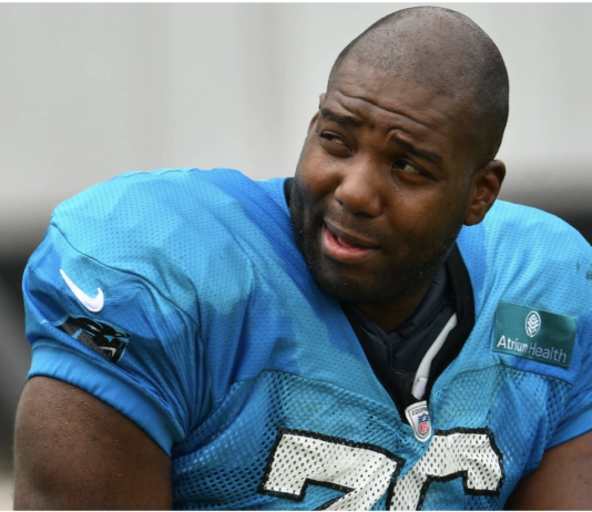 Carolina Panthers tackle Russell Okung Getty Images