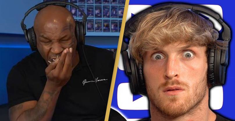 Mike Tyson shoves down for grams of shrooms in Logan Paul's podcast
