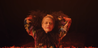 Charlotte Rampling In Gaspar Noe's fasion film for Saint Laurent
