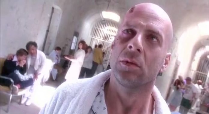 Terry Gilliam was concerned that Bruce Willis' mouth looked like an ass hole