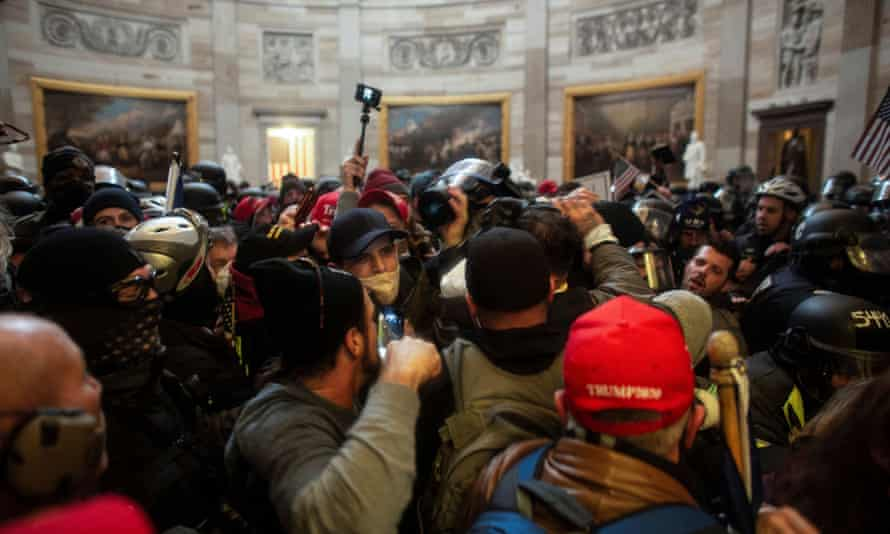 Capitol Hill rioters allegedly used walkie-talkie app Zello while raiding DC