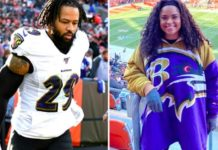 Earl Thomas and wife Nina Heisser