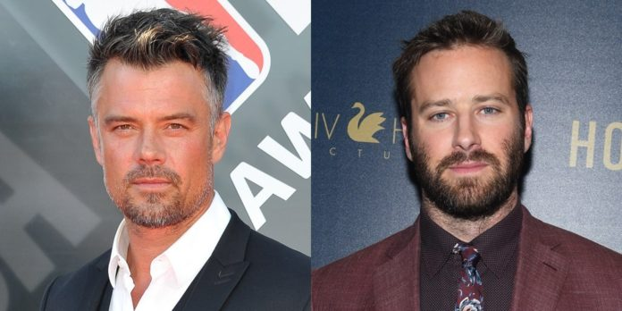 Josh Duhamel in early talks to replace Armie Hammer in