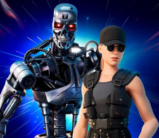 T-800 and Sarah Connor skins are reaching Fortnite