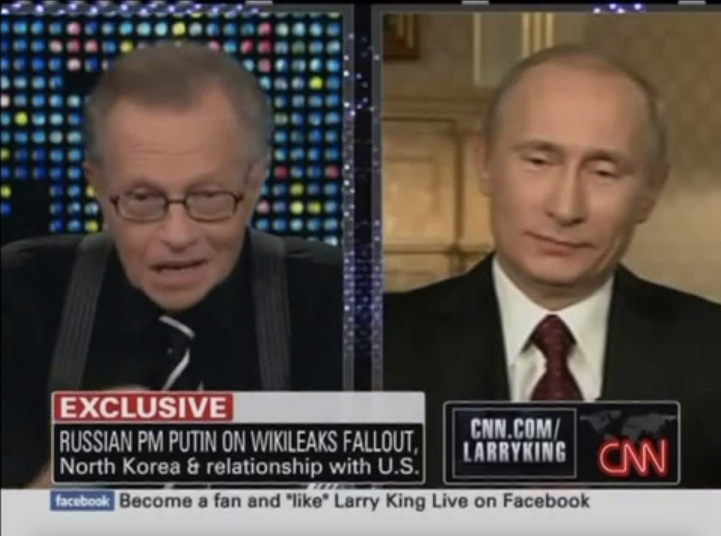 Russian President Vladimir Putin Interview with Larry King in 2000.