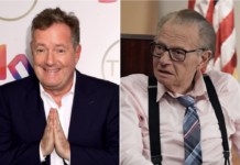 "Piers Morgan is being called out for his insulting ""tribute"" to Larry King following news of the broadcaster's death. Getty Images"