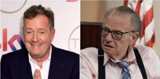 """Piers Morgan is being called out for his insulting """"tribute"""" to Larry King following news of the broadcaster's death. Getty Images"""