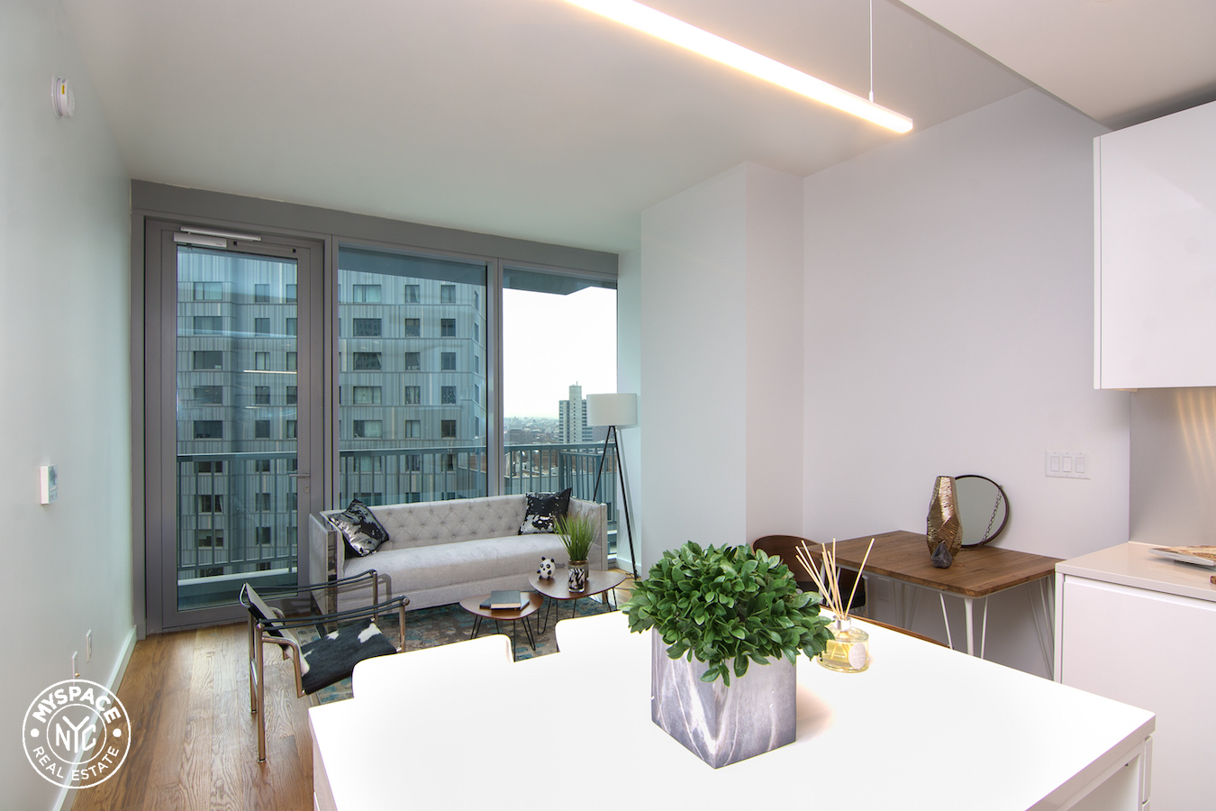 The Azure - Brooklyn two bedroom apartment for rent - 9A