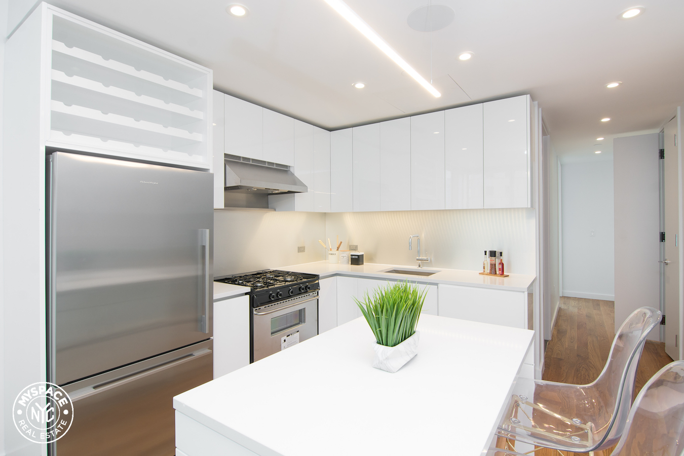 The Azure - Brooklyn two bedroom apartment for rent - 17A