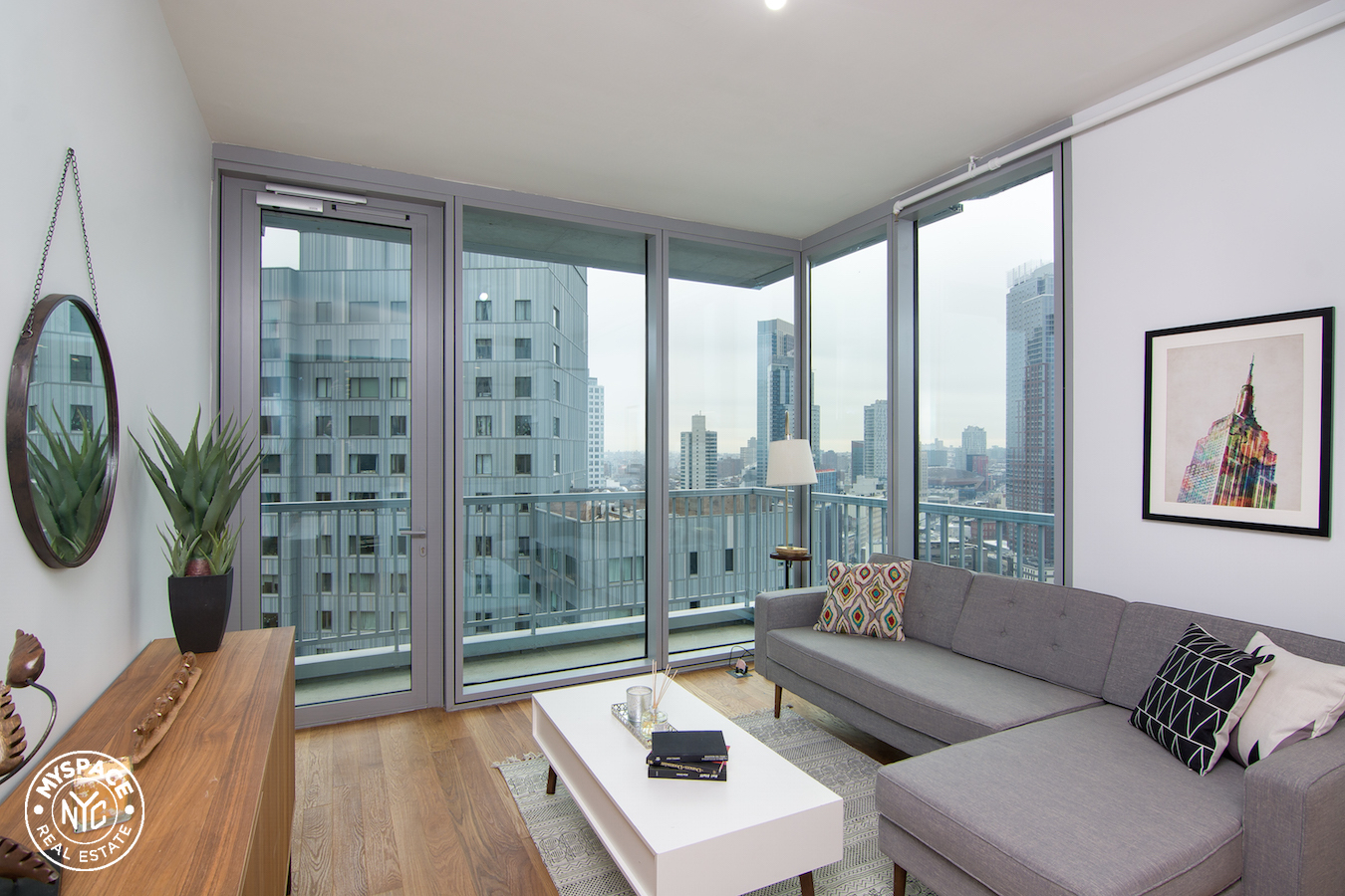 The Azure - Brooklyn two bedroom apartment for rent - 18D