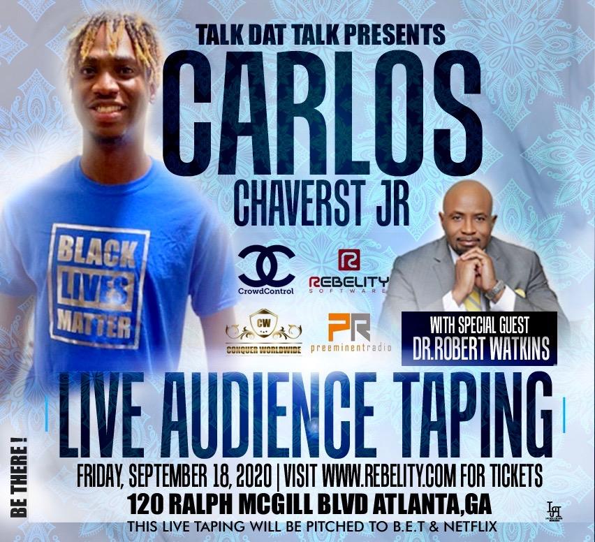 Talk Dat Talk featuring Carlos Chaverst Jr