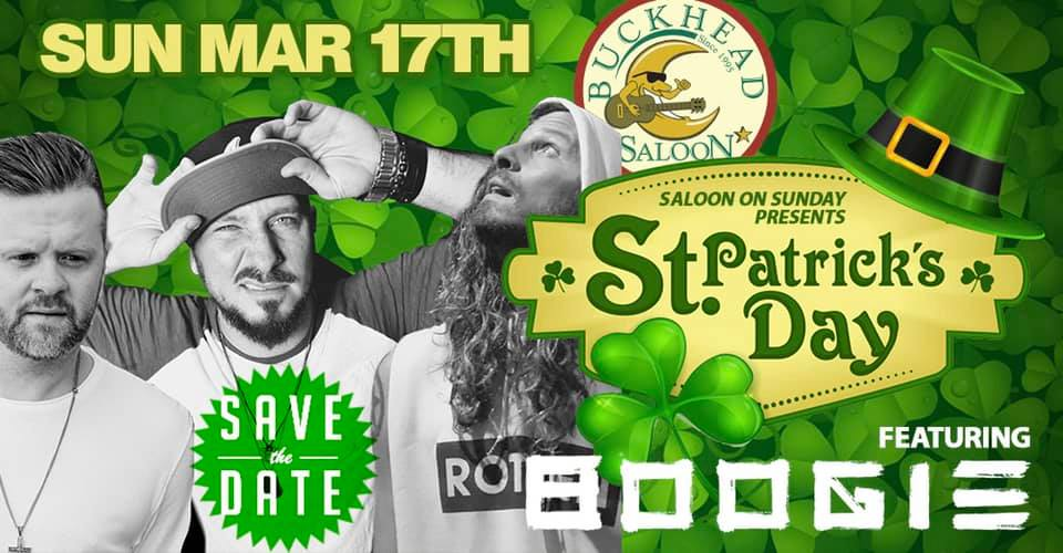 St Patrick's Day Blowout at Saloon with Jacob and the Goodpeople/Boogie and DJ Infamous and Friends