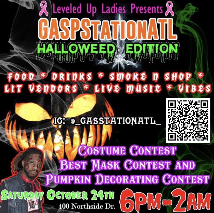 GASPStationATL A Gasquerade Halloweed Edition