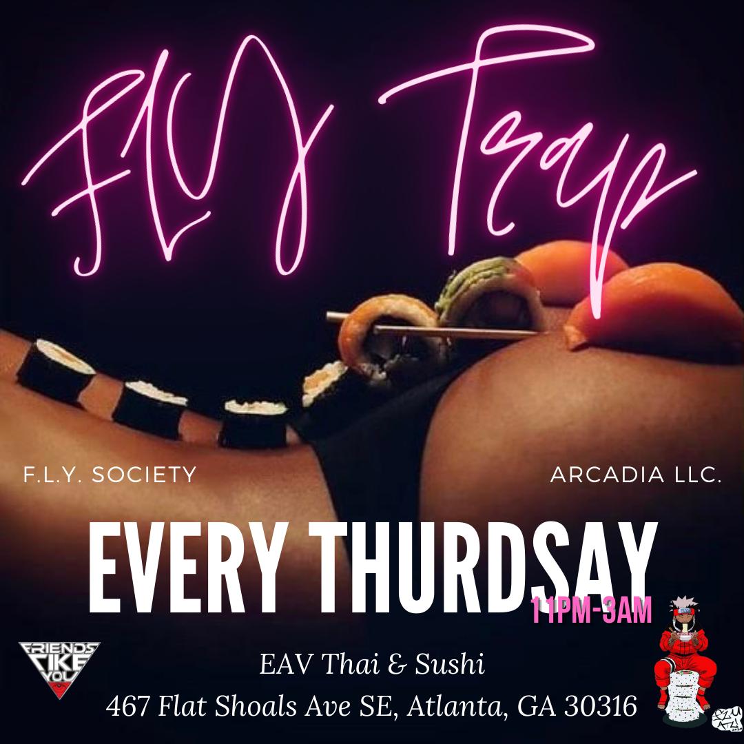 FLY TRAP X EAV Thai & Sushi