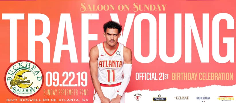 Trae Young's Official 21st Birthday Celebration