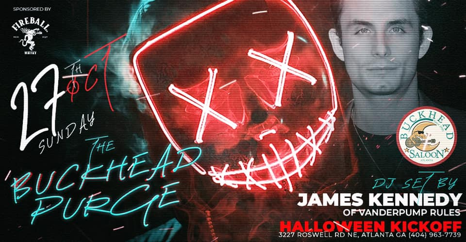 James Kennedy of Vanderpump Rules Halloween Purge Party