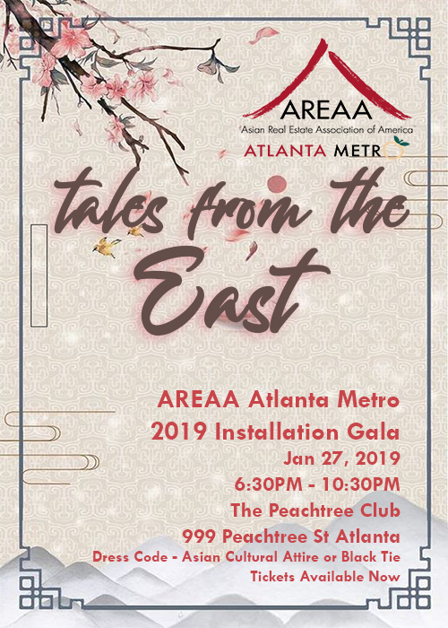 AREAA Installation Gala - Tales from the East