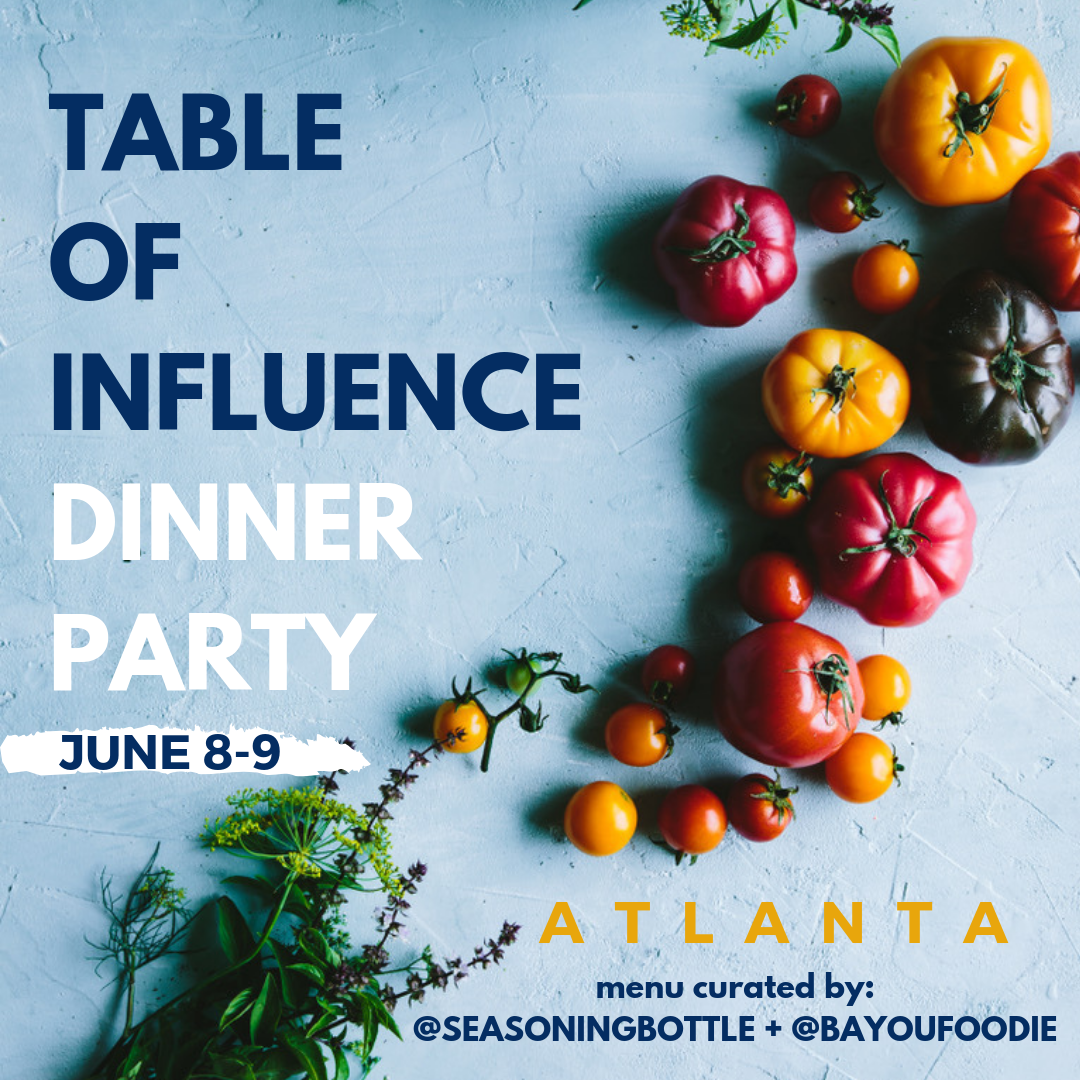 Table of Influence Dinner Party