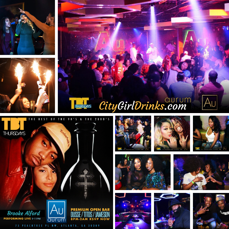 #CITYGIRLDRINKS #THROWBACKTHURSDAYATL | PREMIUM OPEN BAR |