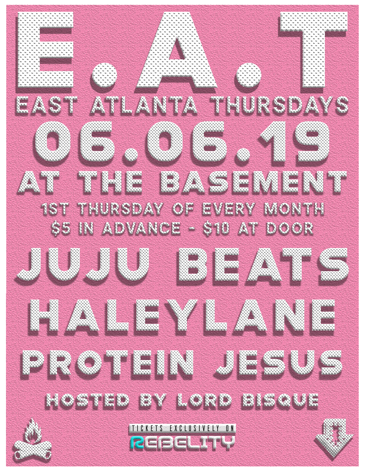 East Atlanta Thursdays - E.A.T. - at the Basement - 06.06.19