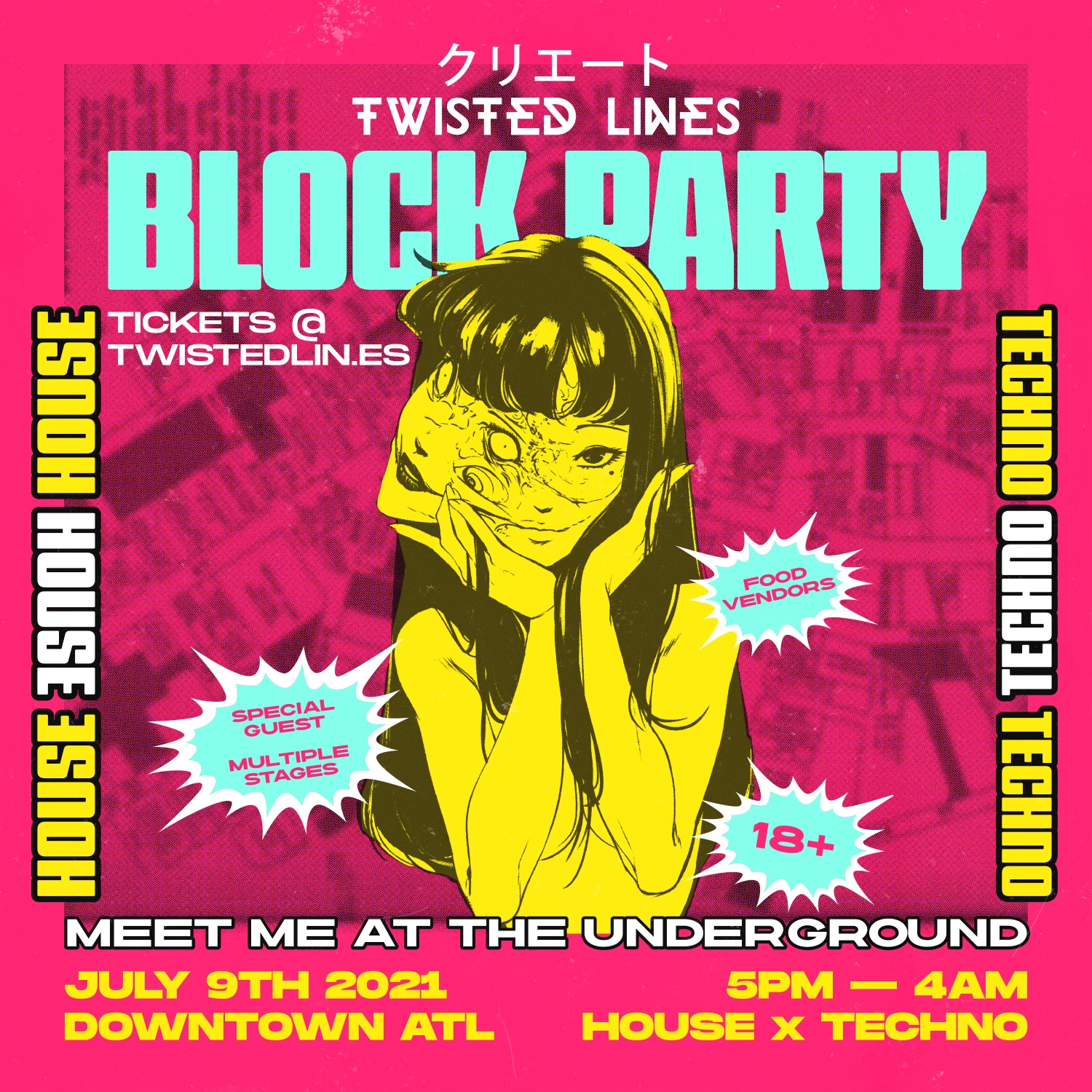 TWISTED LINES 1YR ANNIVERSARY BLOCK PARTY