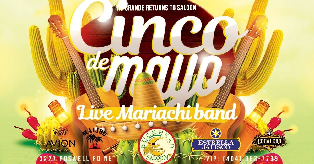 Rio Grande Returns to Saloon for CINCO de MAYO
