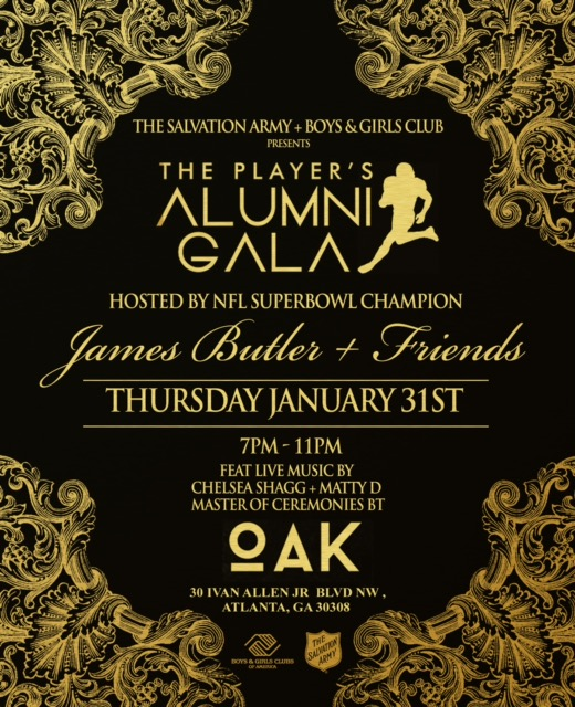 The Salvation Army Boys and Girls Club of Greater Atlanta Presents: The Players Alumni Gala