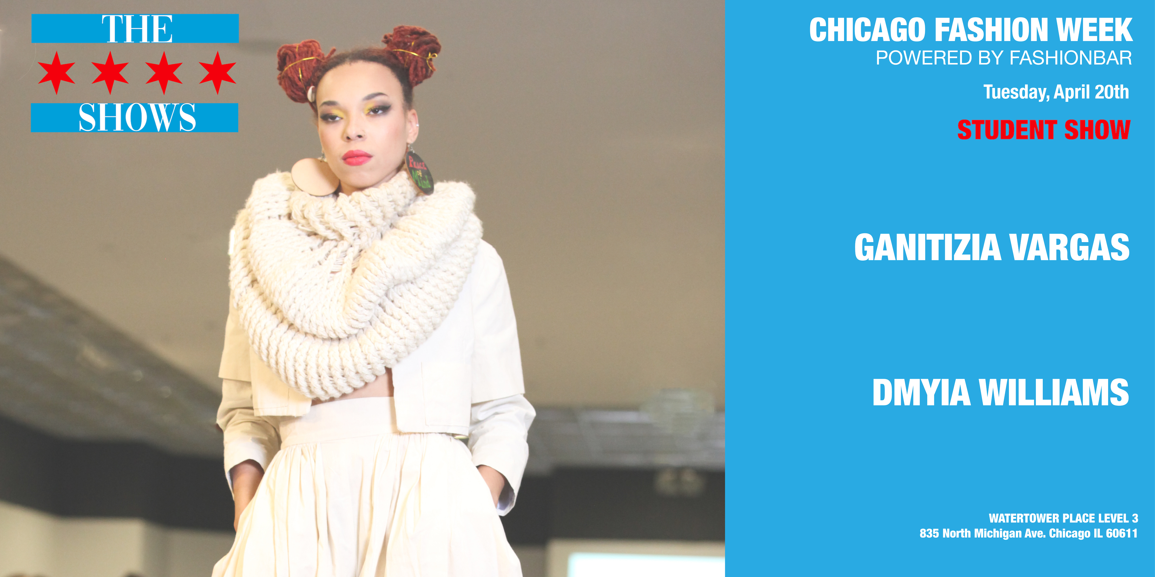 Chicago Fashion Week Powered by FashionBar:  THE SHOWS APRIL 2021