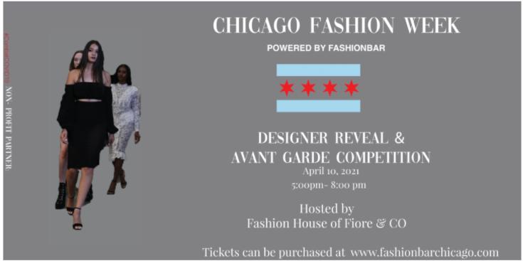 Chicago Fashion Week Powered by FashionBar:  THE SHOWS APRIL 2021