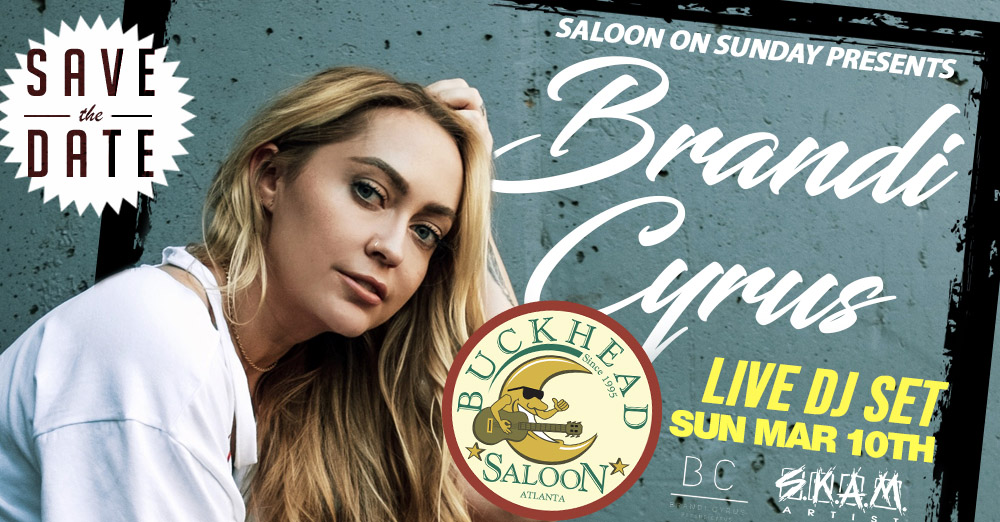 Brandi Cyrus Live DJ Set at Saloon on Sundays