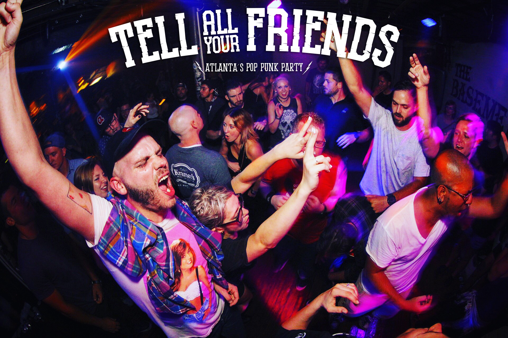 Tell All Your Friends - Atlanta's Pop Punk/Emo Party