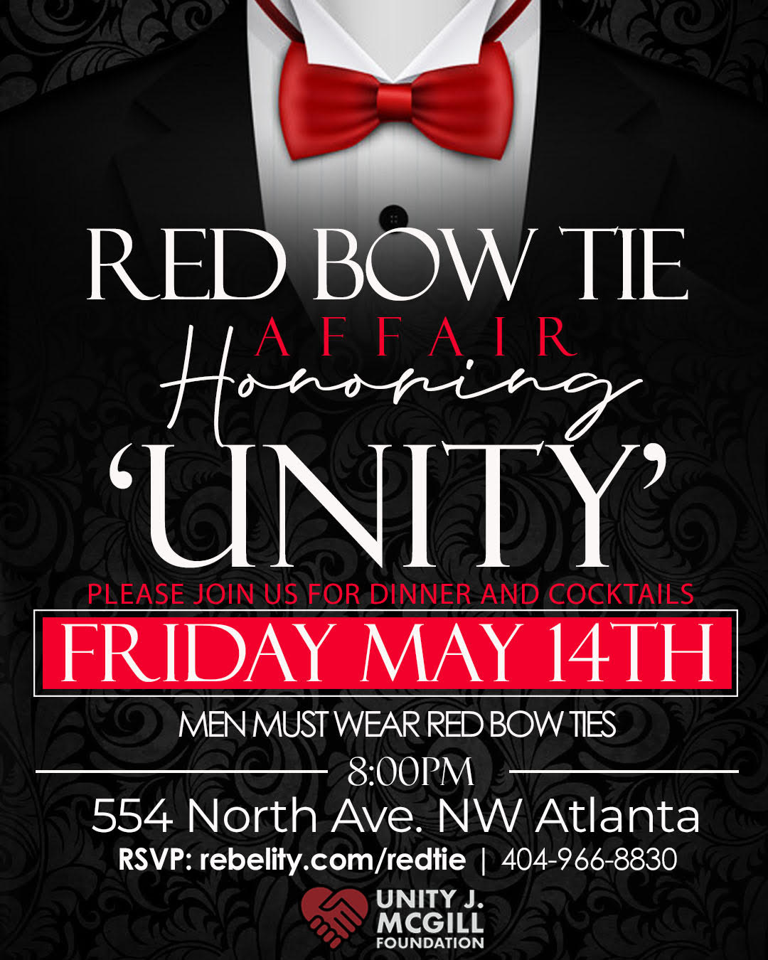 RED BOW TIE AFFAIR