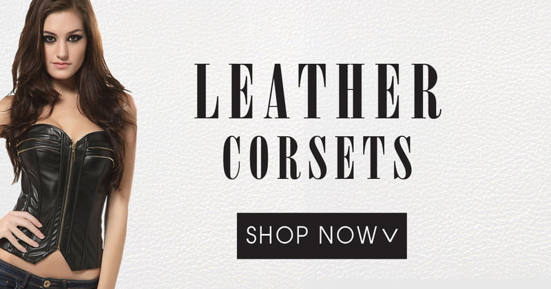 Find Leather Corsets on RebelsMarket