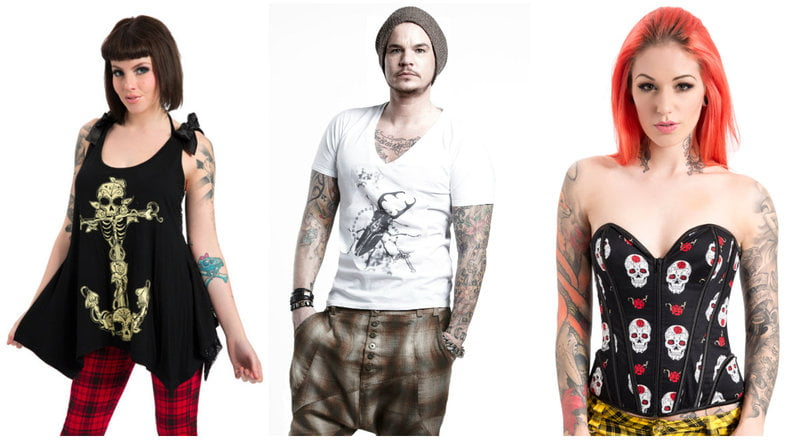 Fashion To Show Off Your Tattoos - RebelsMarket