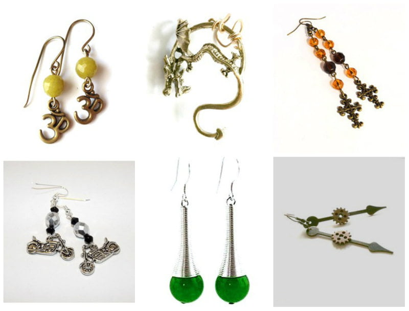 Handmade jewelry artists stay on top of trends.