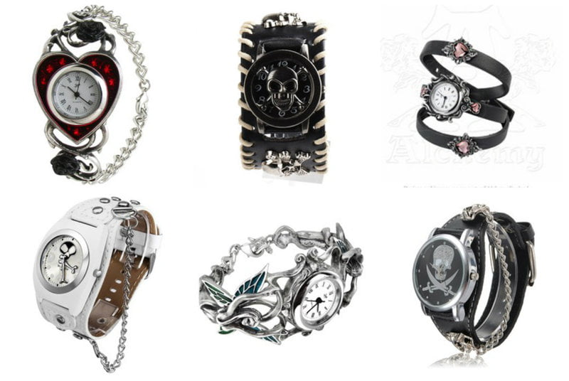 Watches that can double as bracelets.