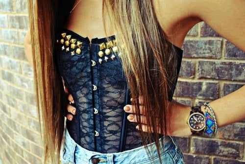 Fashion corset tops