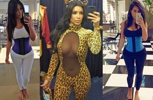 Kim Kardashian has been vocal about using corsets for waist training
