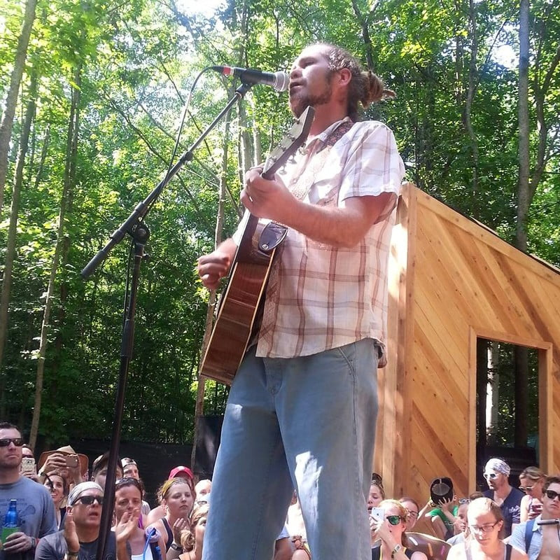 Citizen Cope plays to a limited crowd during Firefly's Treehouse Session