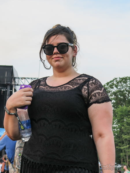 Lady In Black - Firefly Festival Fashion 2015