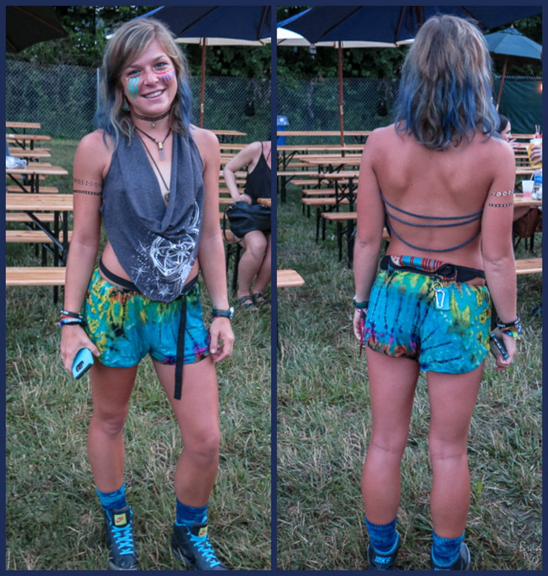 Firefly Festival Fashion Featuring Monochromatic Blues