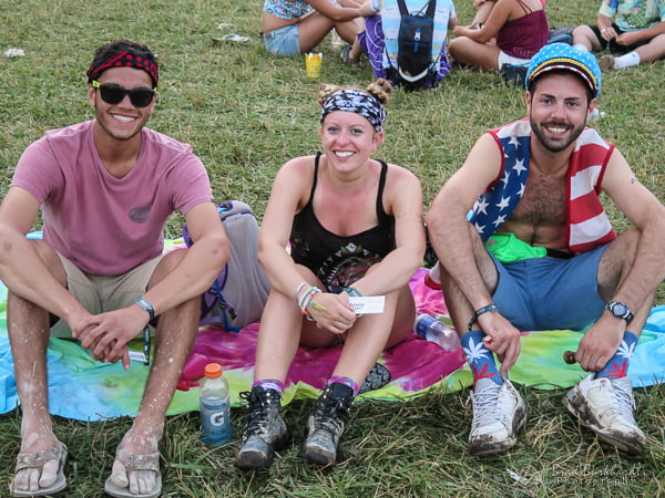 Friends with their own unique style at Firefly 2015