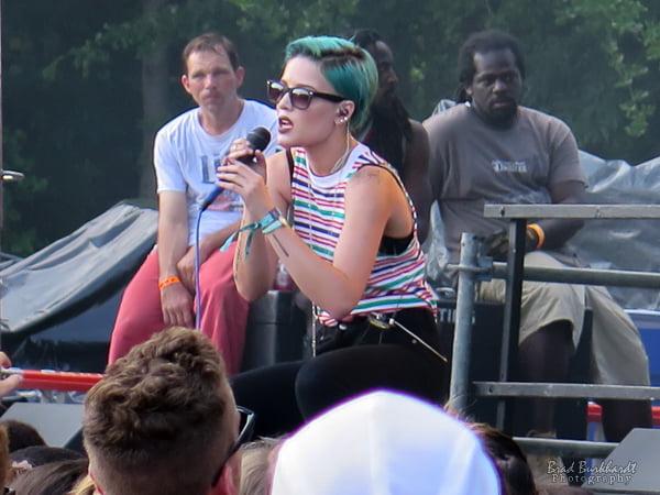 Halsey - Firefly Festival Fashion 2015