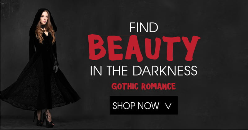 Romantic Goth Fashion from RebelsMarket