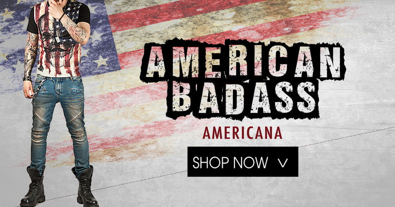 American Flag Apparel For Men