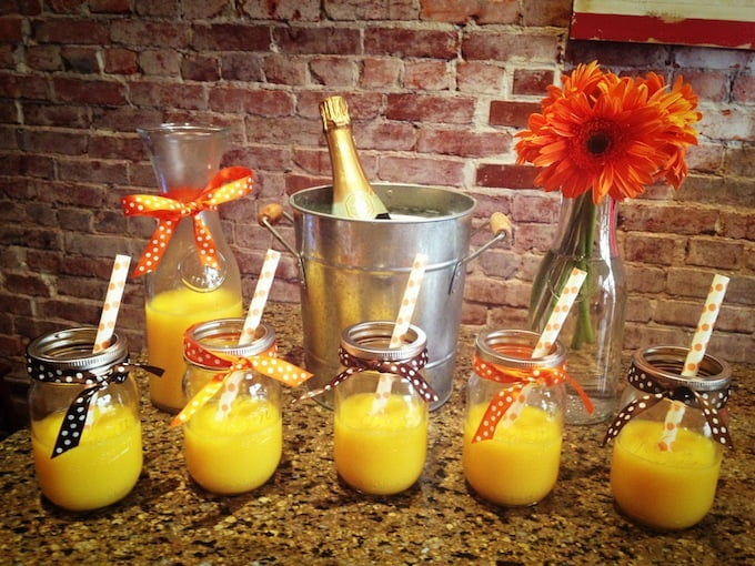 Summer Cocktail Recipe Mango Mimosa